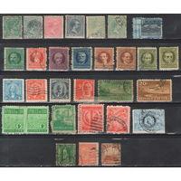Куба Подборка старых марок с 1878 года 30 штук