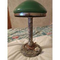Лампа настольная мрамор