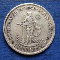 Южная Африка Британский доминион 1 шиллинг 1943 Георг VI