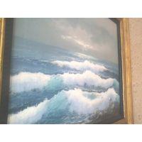 Морской пейзаж 56х46