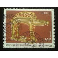 Франция 2007 статуэтка из золота 1 век  Mi-2,6 евро гаш.