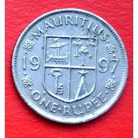 34-35 Маврикий, 1 рупия 1997 г.