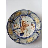 Антикварная Тарелка . Франция начало 18 век.