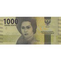 1000 рупий Индонезия 2016 год UNC