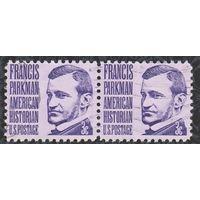 США 1967, историк Френсис Паркман, 2 марки