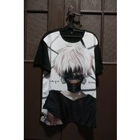 Майка мерч Токийский Гуль Tokyo Ghoul аниме хоррор
