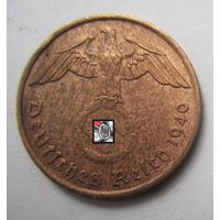 Третий рейх. 2 рейхспфеннига 1940 A.   2-137