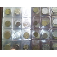 Альбом с монетами 120 монет без повтора
