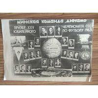 Ксерокопия.  Динамо Мн. 1963 г.
