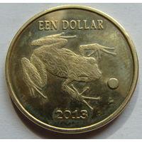 О.Саба 1 доллар 2013 г