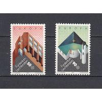 Европа. Лихтенштейн. 1987. 2 марки (полная серия). Michel N 916-917 (2,5 е)