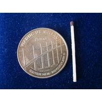 "Медаль монетовидная, Франция, 2012 г., "" Виадук""."