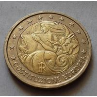 2 евро, Италия 2005 г., годовщина Конституции