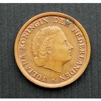 Нидерланды 1 цент 1959 г.