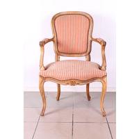 Винтажное кресло в стиле Людовика XV.Art-882.