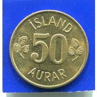 Исландия 50 эйре ( аурар ) 1973