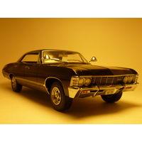 1967 Chevrolet Impala SS Sport Sedan 1:18 Greenlight Supernatural Сериал Сверхъестественное