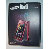 Телефон SAMSUNG GT-S5230 комплект.