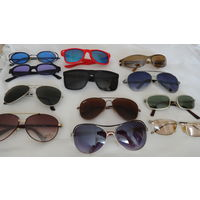 ОЧКИ солнцезащитные .Женские .  Мужские  . Высококачественные очки и линзы .