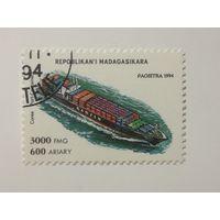 Мадагаскар 1994. Корабли.