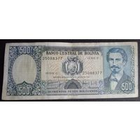 Боливия. 500 боливиано 1981