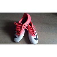 Бутсы Nike Mercurial, размер 39.