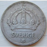 4.Швеция 50 оре 1948 год, серебро*