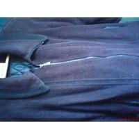 Пальто темно-бордовое