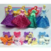 Продам серию принцессы и питомцы+ 3допа