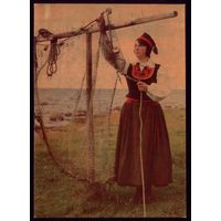 1969 год Комплект из 15 открыток Эстонские народные костюмы