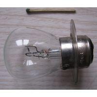 Лампа накаливания автомобильная А12-60+40, 12В 60+40 Вт .