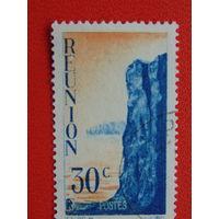 Французский остров Реюньон 1947 г.