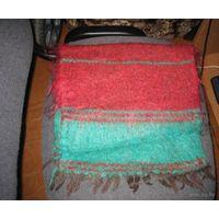 Чисто мохеровый шарф