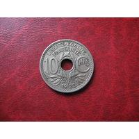 10 сантимов 1922 год Франция