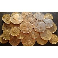 30 монет Франции. Одним лотом.