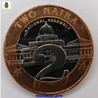 Нигерия,  2 найры 2006 года