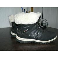 Waterproof ботинки Деми -евро зима.Прошиты,утеплены,не промокают.