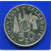 Новая Каледония 50 франков 2004