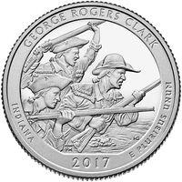 25 центов 2017 года