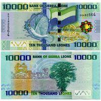 Сьерра Леоне. 10 000 леоне (образца 2010 года, P33, UNC)