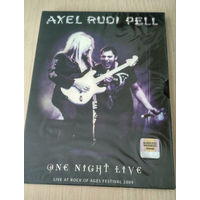 DVD Axel Rudi Pell - One Night Live