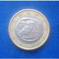 Греция 1 евро 2005