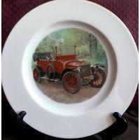 Винтажная декоративная тарелка Limoges