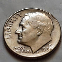 10 центов (дайм) США 1983 D