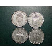 Швеция 1 крона цена за монету (список)