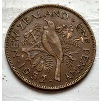 Новая Зеландия 1 пенни, 1952  2-3-30