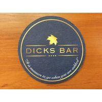 Подставка под пиво Dicks Bar
