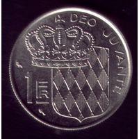 1 Франк 1960 год Монако