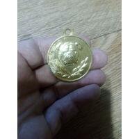 Медальон жетон собака