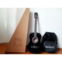 Чехол для гитары черный тканевый